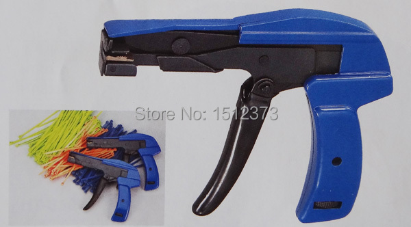 1 piece/lot cable tie gun fastening tool HS-600A 2.4-4.8 10pcs fastening tool for cable tie wires stainless width 2 4 9mm