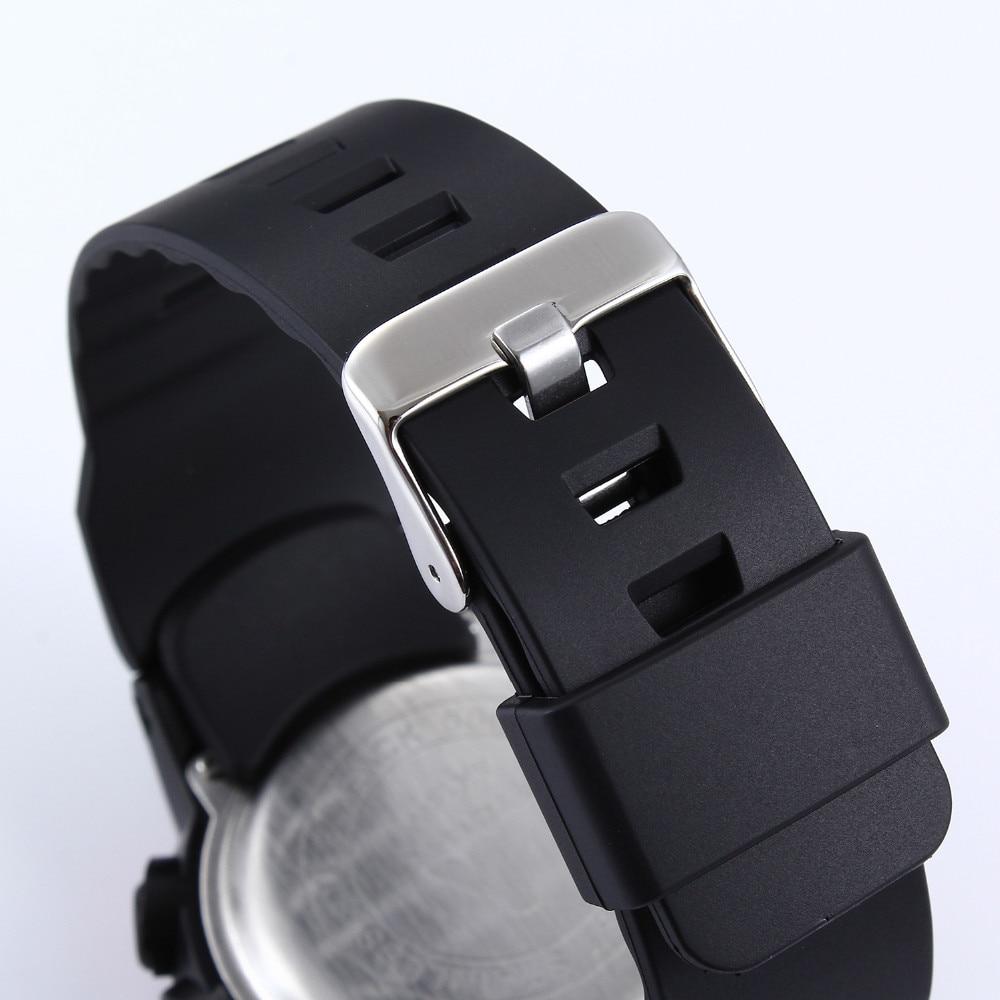 2019 Nueva Marca ALIKE Casual Reloj Hombre G Estilo Impermeable - Relojes para hombres - foto 5