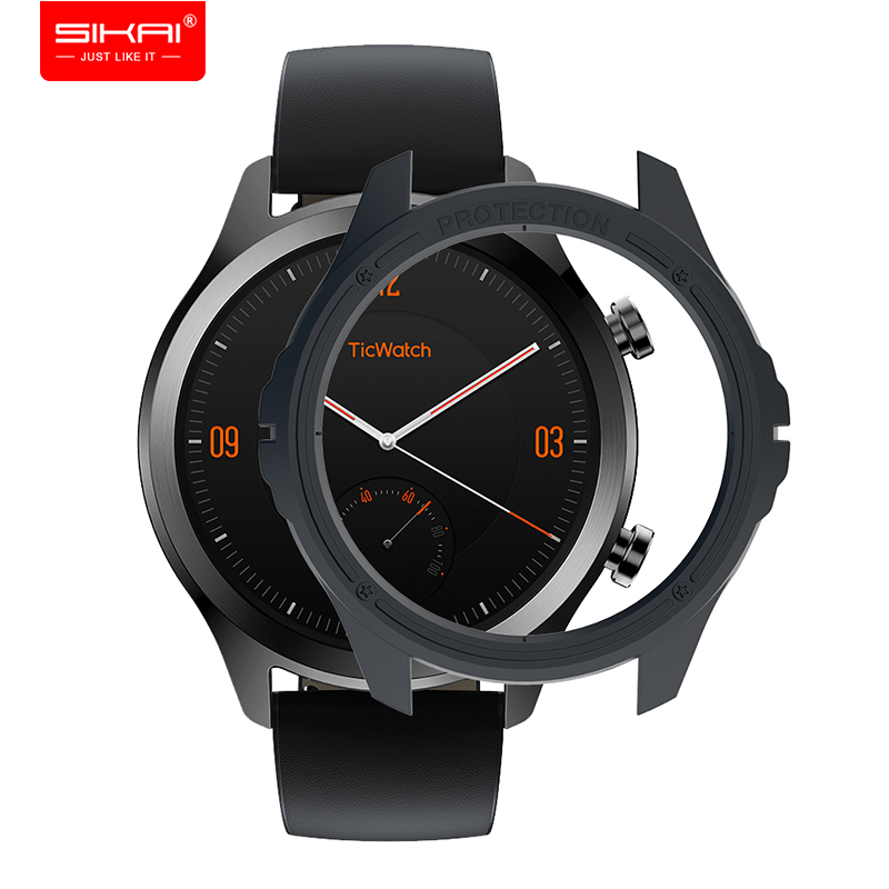 SIKAI Hard PC Protective Movement Cover For Ticwatch C2 Smart Sport Watch Accessories
