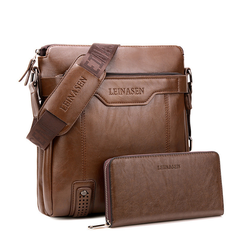 Portable Hand Work Business Office Male Messenger Bag Men Briefcase For Document Handbag Satchel Portfolio Brief Innrech Market.com