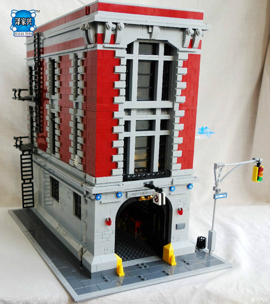 Firehouse Headquarters Building Bricks Blocks Toys for Children Boys Game Model Car Gift Compatible with Lepins DIY 3D Toys