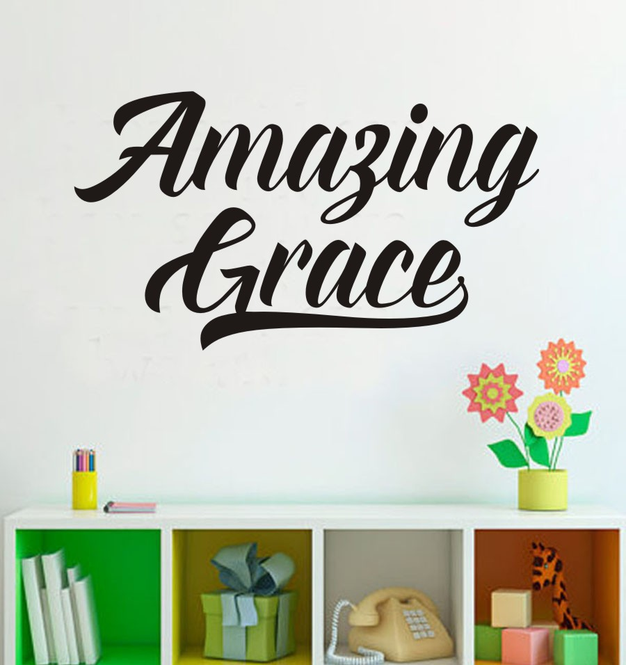 "Amazing Grace Wall Art online shop ""amazing grace"" hymn christianity music newton art"