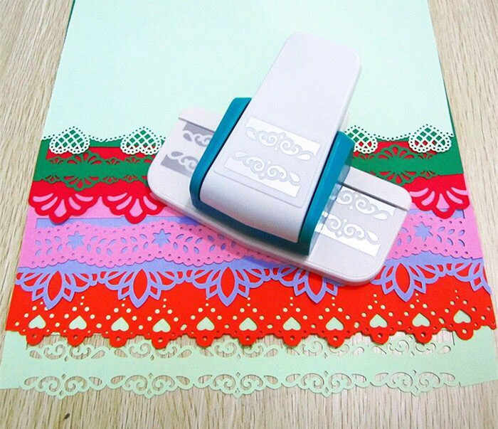 1PC Grote fancy border punch foam papier embossing punch plakboek Edge craft punch plakboek ponsen voor papier gesneden