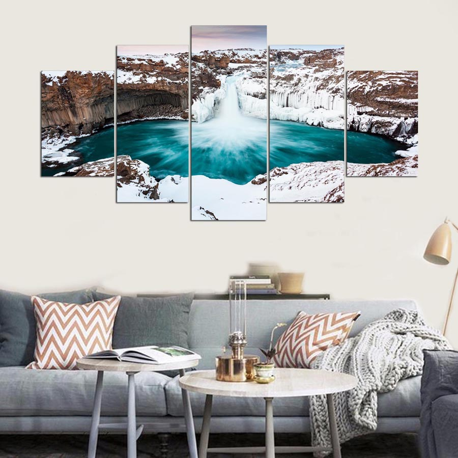 Modern Home Decor Living Room Wall Art Poster Or Bedroom Canvas 5 ...