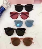 Korea Vintage Retro Round Sunglasses Black Peter For Men New Luxury Womens Sunglasses Gentle Brand Designer