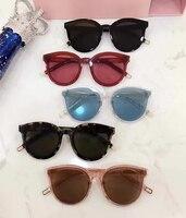 Korea Vintage Retro Round Sunglasses Black peter For Men New Luxury Womens Sunglasses gentle Brand Designer UV400 Oculos De Sol