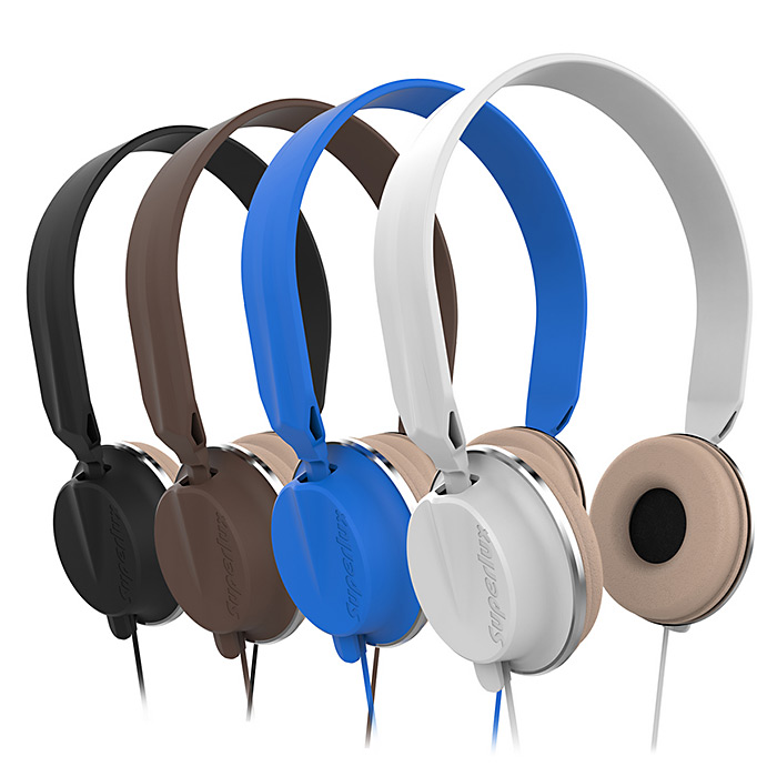 Superlux HD572SP Stereo headphones headset gaming with 3.5mm Gold Plated Jack 1.5m Cable Strong Bass Effect for iOS Android, PC