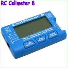 1pcs High Quality RC CellMeter-8 1-8S Battery Capacity Voltage Checker Meter LiPo Li-lon NiMH Wholesale