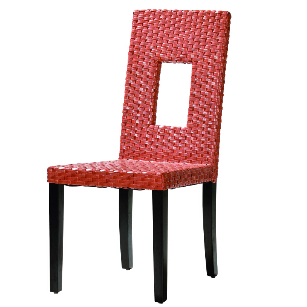 2017 new modern rattan dining chair popular leisure furniture lounge Dining Chair modern western hotel cafe table collection