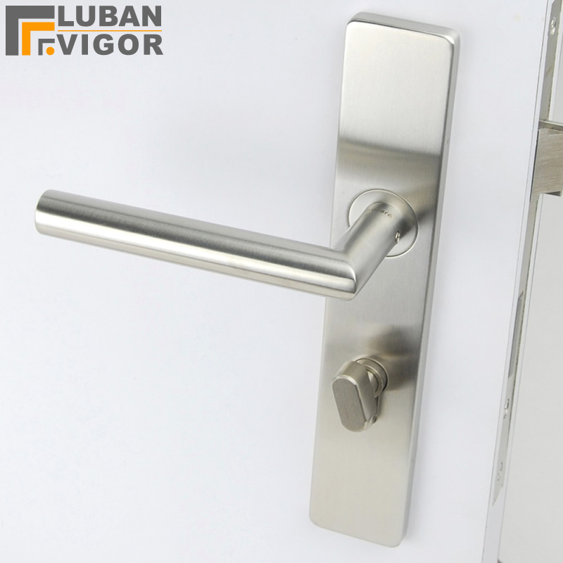 Simple design,so beautifu One panel lock handle,solid 304 stainless steel,Exquisite workmanship,Door hardware Simple design,so beautifu One panel lock handle,solid 304 stainless steel,Exquisite workmanship,Door hardware
