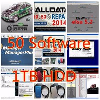 top Auto repair software data v10.53 alldata and mitchell ondemand software 2015 with atsg vivid workshop e/lsa 50in1 tb hdd