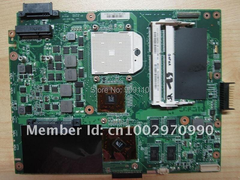 yourui for ASUS K52DR ლეპტოპის დედაპლატა K52DY A52DE K52DE A52DR K52D ნოუთბუქის გამგეობა HD5470 8pcs ჩიპსეტის გრაფიკული ბარათით