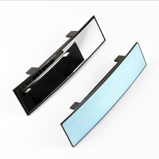 General Car Rearview Mirror Planar Large Sucker Interior Baby Reversing Wide Angle HD Curved Mirror 1PC 5