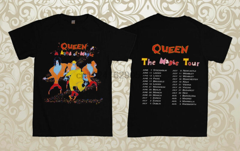 Queen A Kind Of Magic T-Shirt All Sizes New