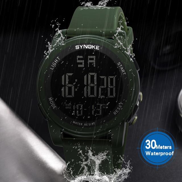 SYNOKE Children Wrist watch Sports Watch LED Digital
