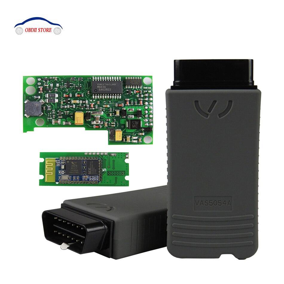 Vas5054a OKI полный чип VAS 5054a ODIS V4.13 OBD2 диагностический сканер VAS5054 Поддержка UDS VAS 5054 OBD 2 автомобиля диагностический инструмент