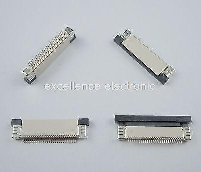 50 Pcs FPC FFC 0.5mm Pitch 26 Pin Drawer Type Ribbon Flat Connector Top Contact