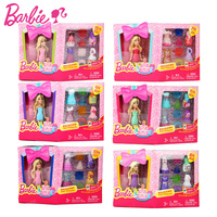Barbie Doll Zodiac And Birthday Series 1 Pcs Barbies Baby Toys With Dress Clothes American Girls