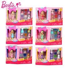 Serie 1 unids barbies barbie muñeca del zodiaco y cumpleaños baby toys con ropa de vestir chicas americanas boneca juguetes dgw30