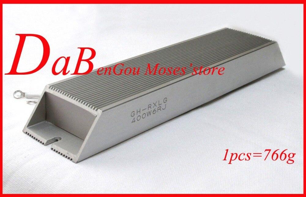 400W 0 2 6 8 10 20 4 50 100 200 ohm 100 original New Aluminum
