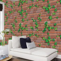 Self adhesive Wallpaper Stickers Brick 3D Wall Sticker Living Room Decoration Wall Decor Bedroom Decorativo 45cm*10m