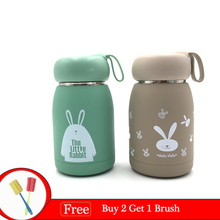 360ML Thermos Mug Vacuum Flasks Stainless Steel thermo Bottle Belly Cup Thermal For Water Insulated Tumbler Animalcup