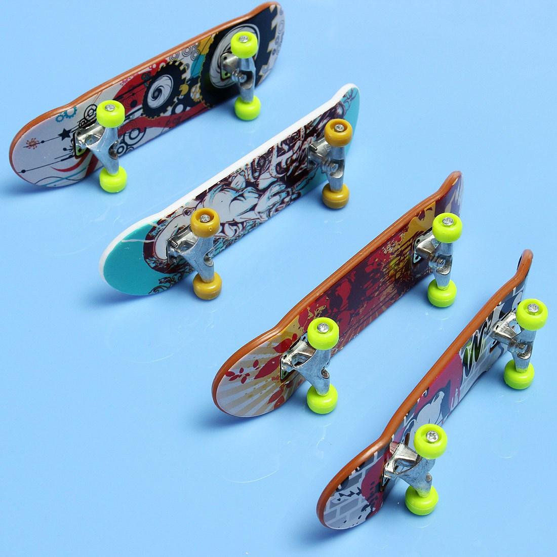 Detail Feedback Questions About New Wooden FingerBoard Gift Professional Finger Skateboard Boy Board Truck Kid Children Party Brain Development For