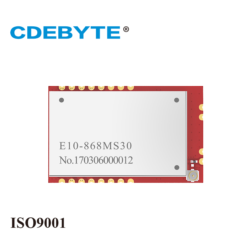 E10-868MS30 Small Size Long Range SI4463 868mhz 1W IPX/stamp-hole Antenna Uhf Wireless Transceiver(transmitter/receiver) Module
