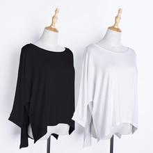 Женщины Блузка Топы Спорт Половина Рукав Сплошной Рубашка Тренировки Йога Хлопок Плюс Размер Одежды