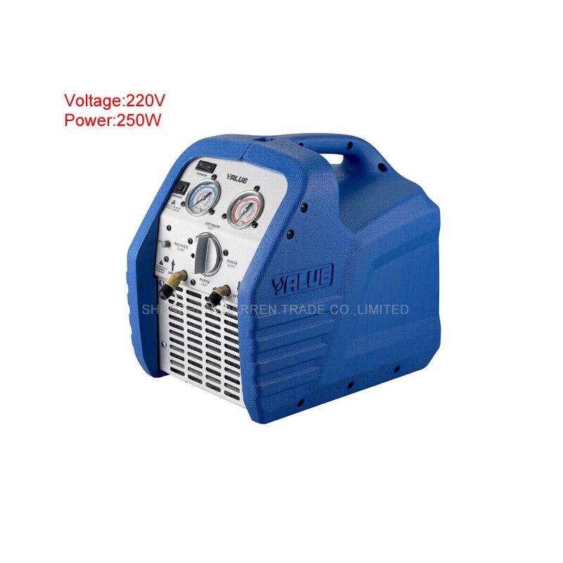 High Reliable Refrigeration Recovery Machine VRR12L Air Conditioner Refrigerant Recovery Machine AC 220V