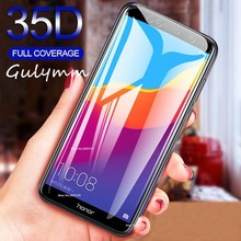 35D Protective Glass on the For Huawei P30 P20 Lite Tempered Screen Protector 0.26mm For Honor 8A 8C 8S 10 10i 20 LITE Pro Film protective glass on the for huawei honor 20 8a 8c 8s p20 p30 lite pro tempered screen protector 93d glass on nova 5i 4e 3i film