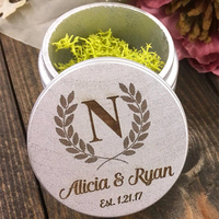 24 Styles Personalized Ring Box Wooden Ring Bearer Box Engraved Rustic Wedding Customized Wedding Gift