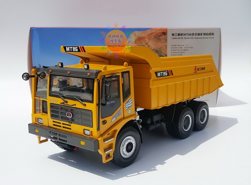 Collectible Alloy Toy Model Gift 1:35 Scale SDLG MT86 Heavy Duty Mine Dump Truck Construction Vehicles DieCast Model DecorationCollectible Alloy Toy Model Gift 1:35 Scale SDLG MT86 Heavy Duty Mine Dump Truck Construction Vehicles DieCast Model Decoration