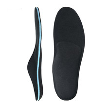 цены Memory Foam Sports Orthopedic Insoles Pads For Shoes Soles Flat Feet Arch Support Pad Foot Orthotic Insole Shoe Inserts Padding