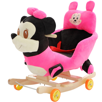 Baby swing Plush Bear Toy Rocking Chair Baby Bouncer baby Swing Seat Outdoor Baby Bumper Kid Ride On Toy Rocking Stroller Toy