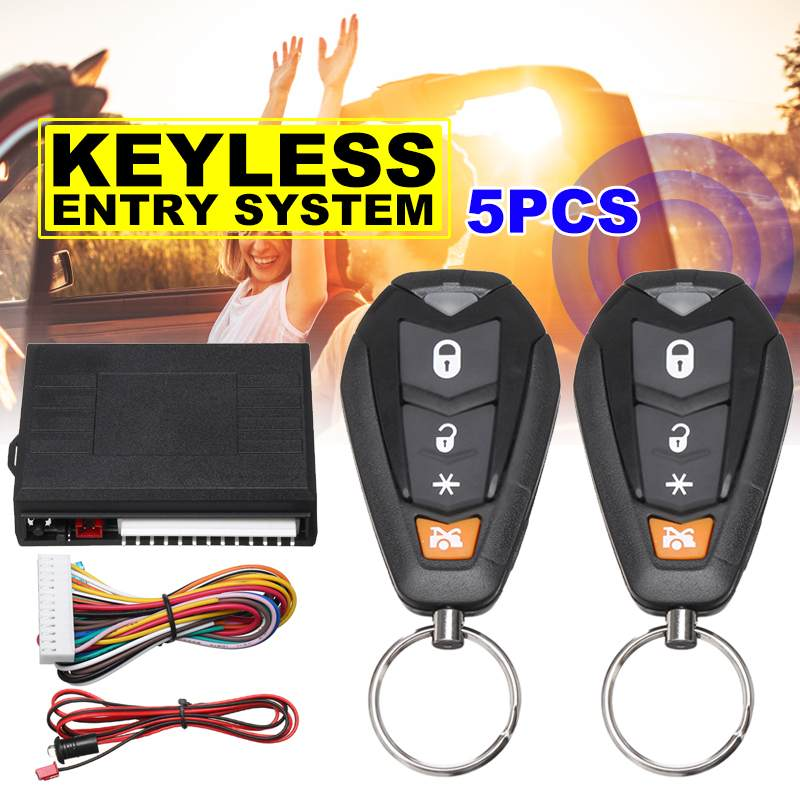 Universal Car Auto Remote Central Door Lock Keyless System Central Locking with Remote Control Car Alarm Systems