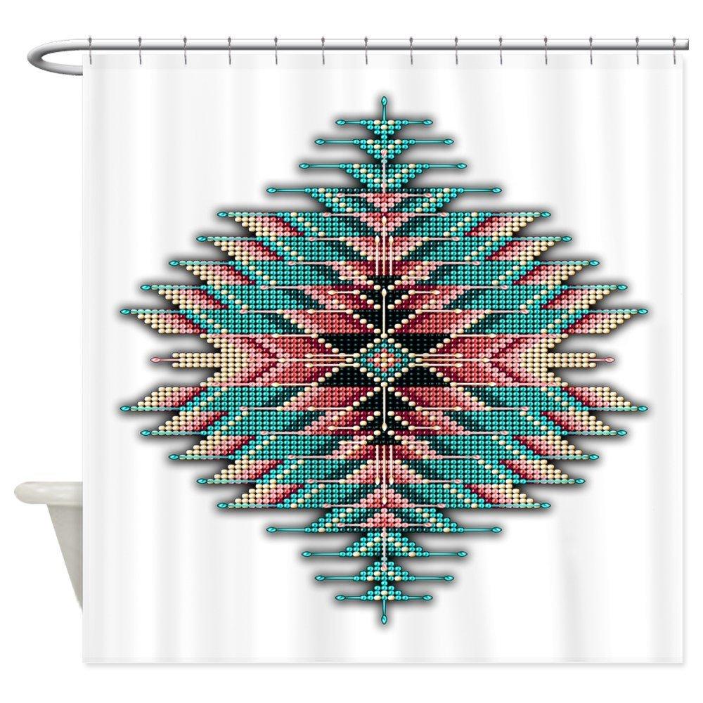 Southwest родной Стиль Sunburst декоративное Ткань душ Шторы набор дом коврики для Гостиная противоскользящие Ковры ...