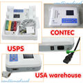 FDA,Contec ECG/EKG Machine,ECG300G 3 channel,12 leads,free software+printer,CE/FDA