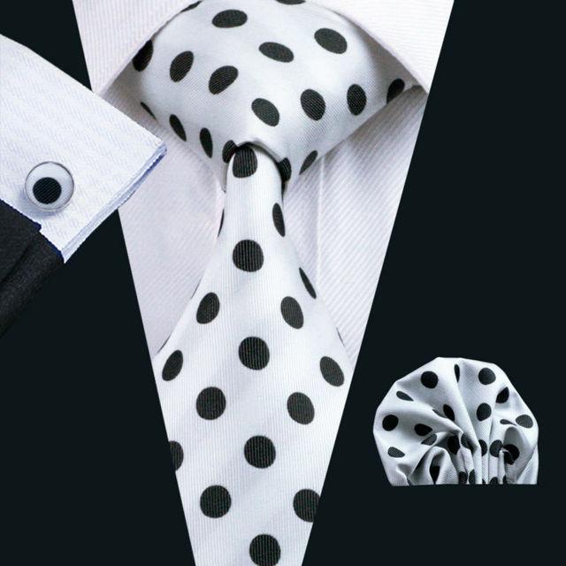 Silk Necktie, Cufflinks and Handkerchief Set