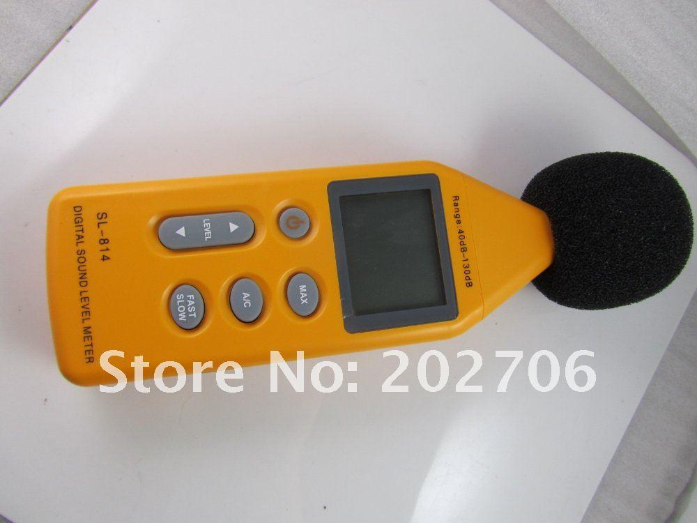 40~ 130dBC Цифровой измеритель уровня звука шумомер децибел Давление 2 шт./партия