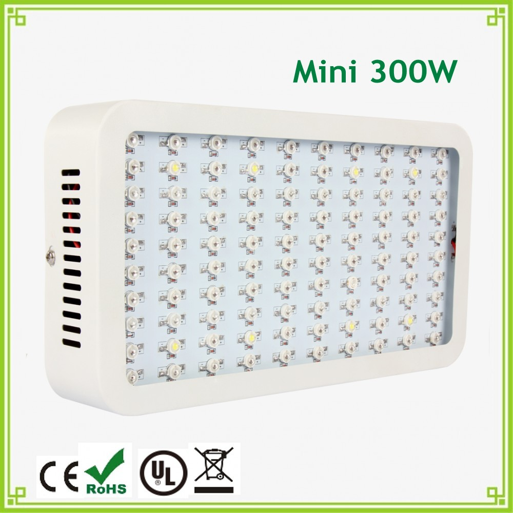 1pcs 2016 Hot Sales LED Grow Light 300W Mini LED Plant Grow Panel Light Full Spectrum for Indoor Grow Box Flowering Plants#17 1x high quality 450w apollo led grow light hot sales plant grow led bulb express free shipping