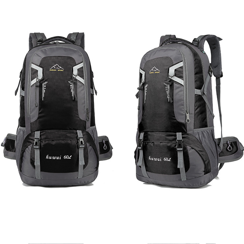 60L 2019 Waterproof Mens Backpack Unisex Outdoor hiking Travel Sport travel Backpack male Reflective strip Camping Nylon pack60L 2019 Waterproof Mens Backpack Unisex Outdoor hiking Travel Sport travel Backpack male Reflective strip Camping Nylon pack