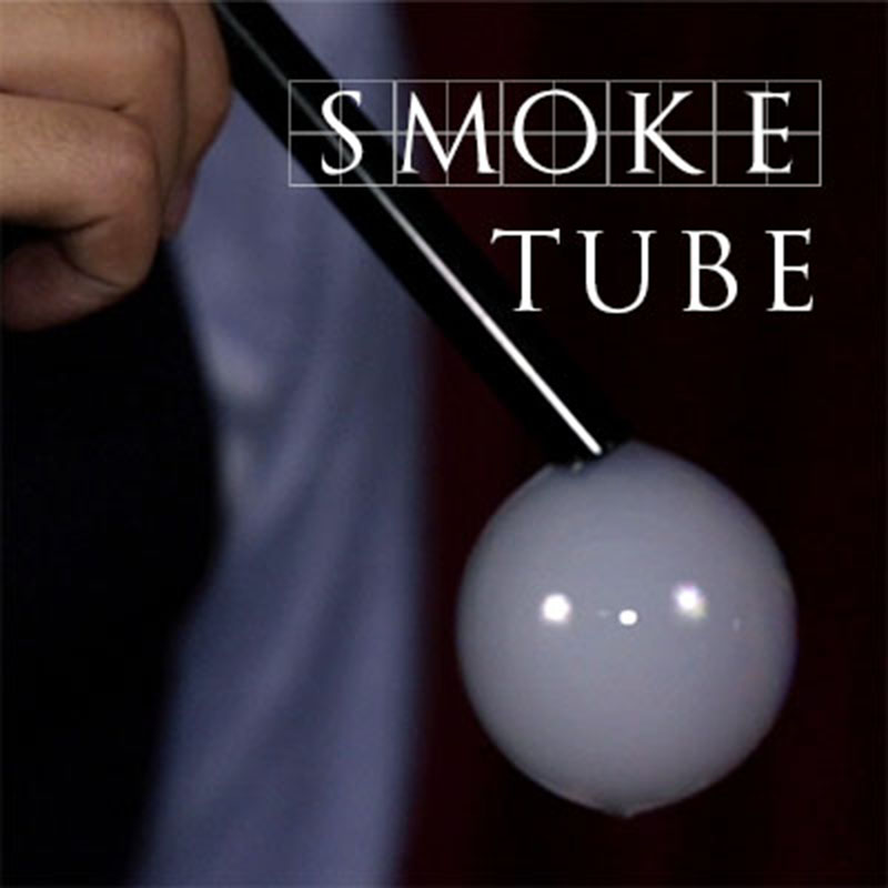 Tubo de humo Magia trucos Magia humo burbuja dispositivo mago escenario clásico juguetes ilusión Gimmick Prop divertido mentalismo