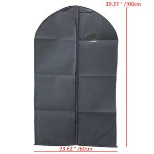 Image 3 - Breathable Non Woven Garment Clothes Cover Dress Suit Coat Protector Travel Dustproof Bag Protective Cover Organizer Storage Bag