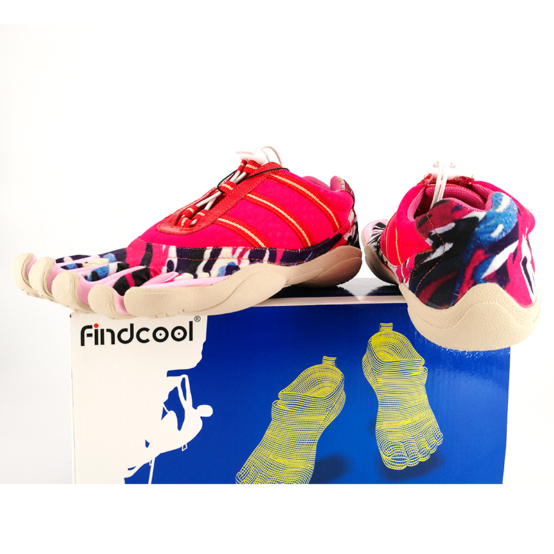Findcool Five Fingers Shoes Women Fashion Rock Shoes Outdoor Walking 5 Toes Shoes