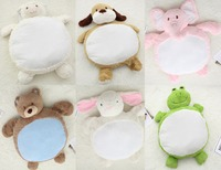 Cartoon Animal Baby Super Soft Playmat Comfort Pillow Bunny/Dog/Bear/Frog/Lamb/Elephant Best Gift For Newborn Baby and Age Up
