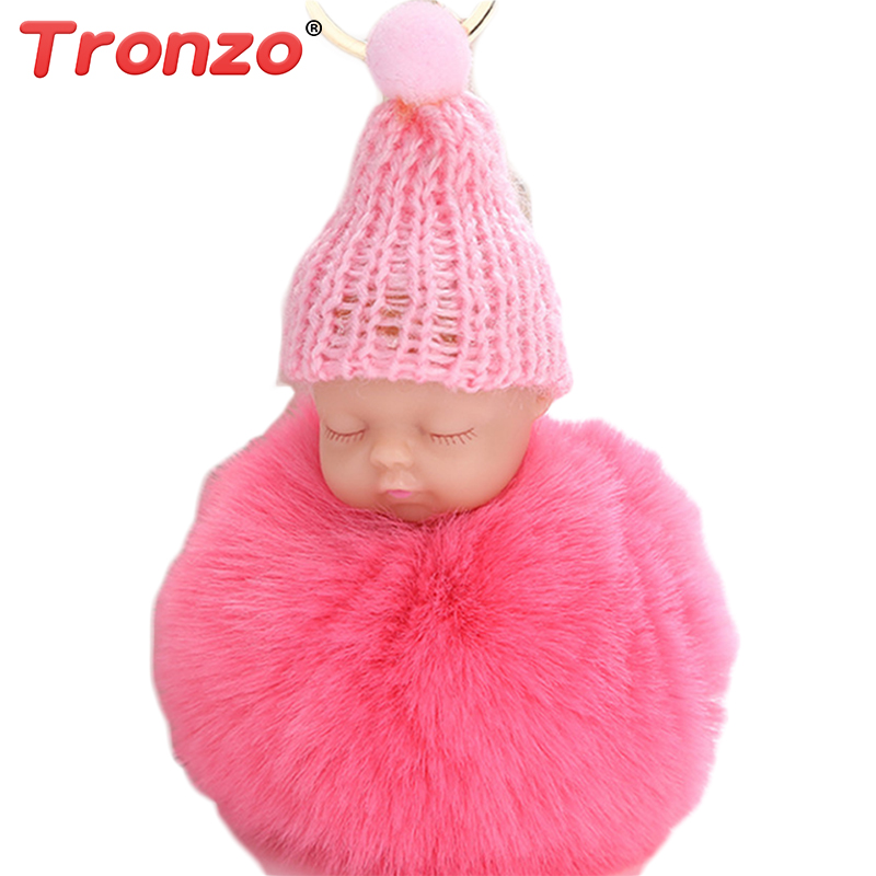 Woodworking Machinery & Parts Tronzo 1pcs 15cm Kawaii Simulation Sleeping Baby Plush Keychain Stuffed Baby Soft Toys Gift For Girl Decor Keyring Drop Shipping