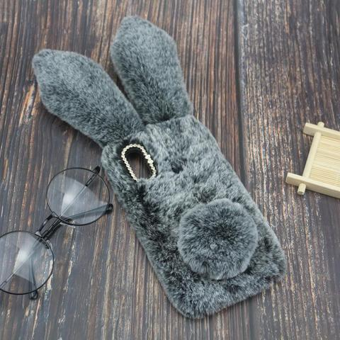 Rabbit Fur Cases For Xiaomi Pocophone F1 Mi 6X A2 Lite 5X 5S 5 5C A1 8 9 MAX 3 2 Mix Note 3 6 Play CC9 CC9E A3 Lite 9T Pro Cover Karachi
