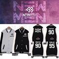 ALLKPOPER Kpop BTOB NEW MEN Baseball Uniform Unisex MINHYUK Varsity Jacket HYUNSIK Coat