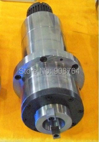 machine tool spindle cnc Spindle  synchronous belt  CNC milling   machine BT30 ATC  petal clamp+ disc spring+drawbar